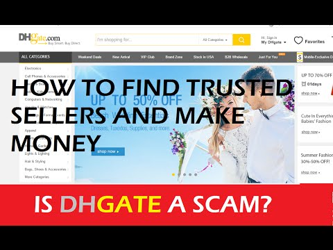 How To Find Trusted Sellers on Aliexpress & DHgateTo Dropship.