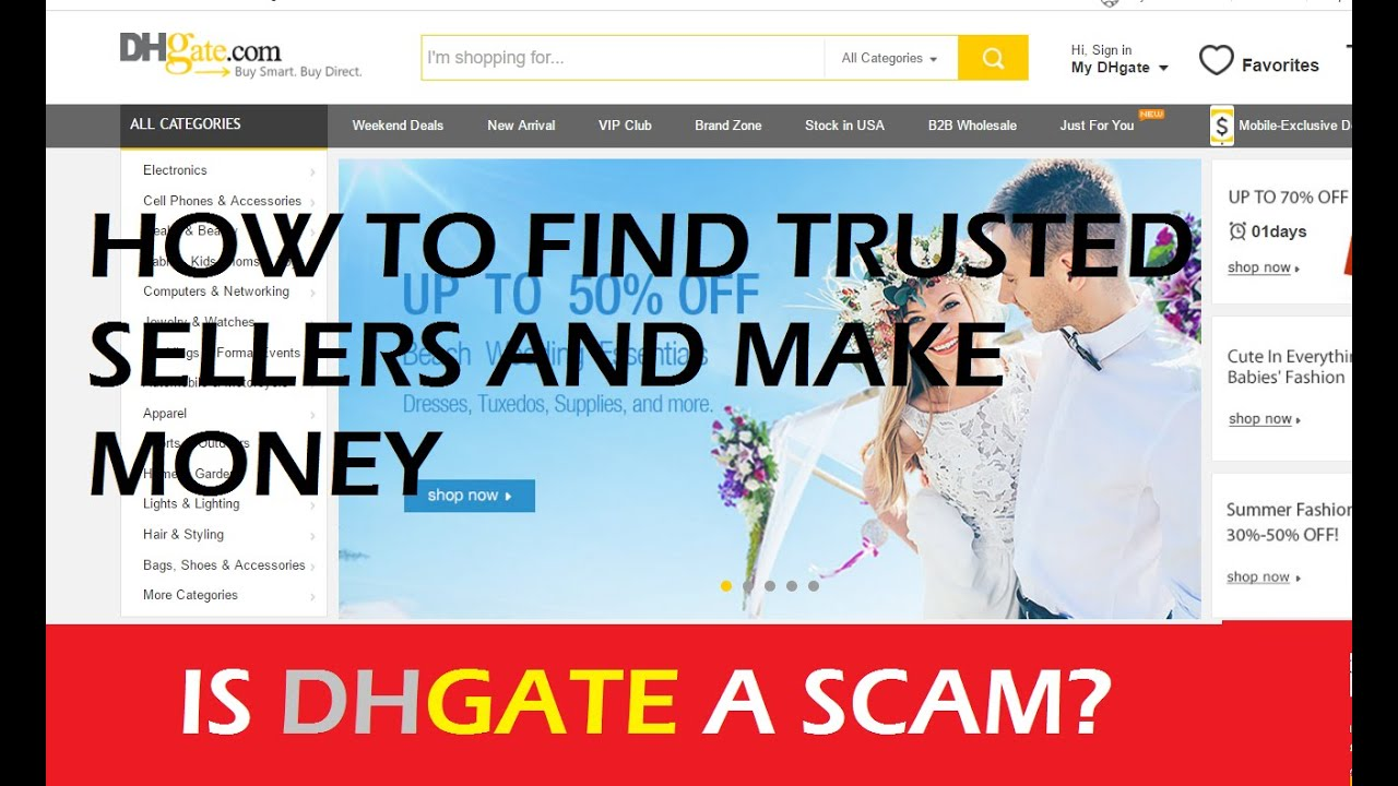 How To Earn Free Money On Amazon Dhgate Dropshipping How To