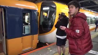 2017/12/31~2018/01/01 近鉄大和八木駅京伊特急・阪伊特急の連結・切り離し