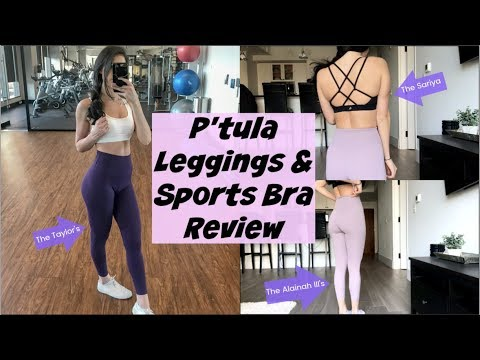P'tula Review | Leggings And Sports Bra