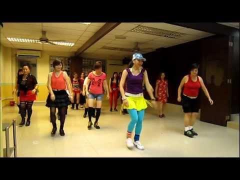V Boom & Floorfiller line dance (22/1/2013)