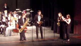 west side story highlights v1 arlington hs saxophone quartet concerto concert may 27 2015