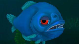 игра Feed and Grow Fish рыба Пиранья