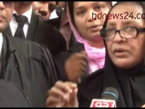 Mother defends lawyer Shakila Farjana