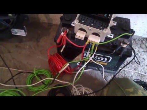 Проверка работы блока реле для вентилятора Нива Шевроле