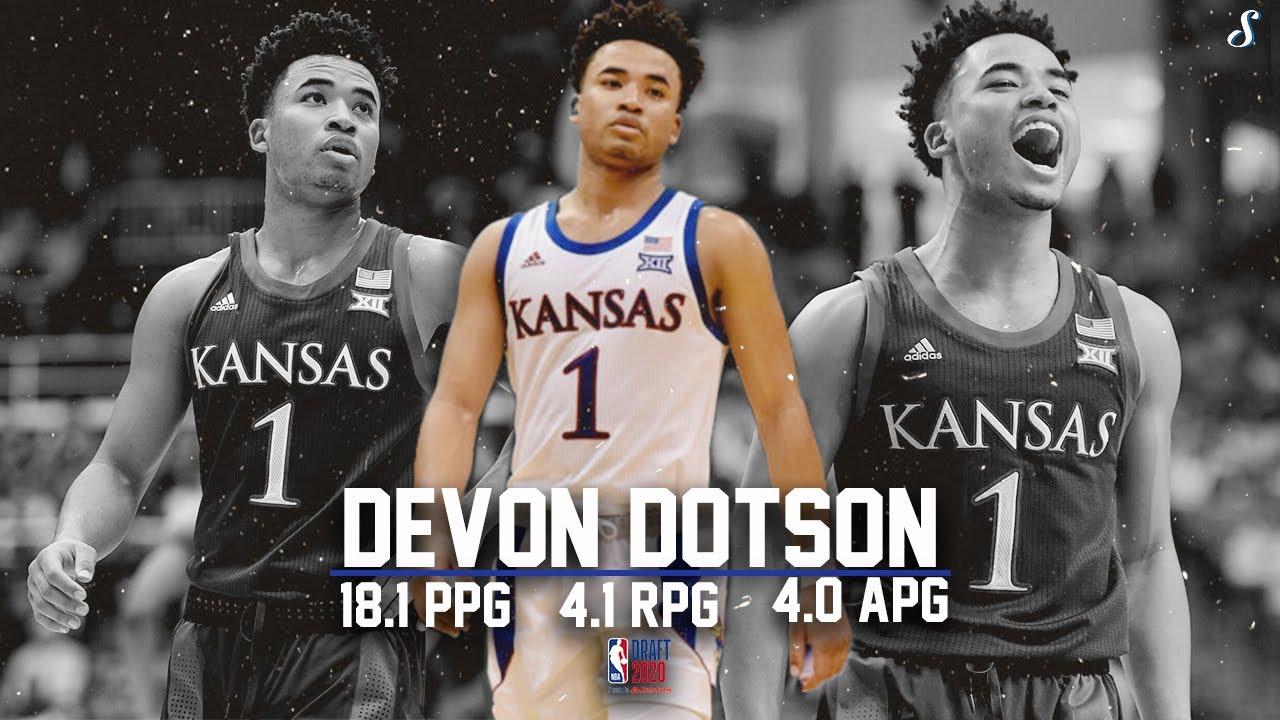 Devon Dotson Kansas 2019 20 Season Highlight Montage 18 1 Ppg 4 1 Rpg 4 0 Apg Nbadraft Youtube