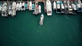 2017-04-04 永安漁港黃昏空拍