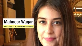 The First Class | Mahnoor Waqar