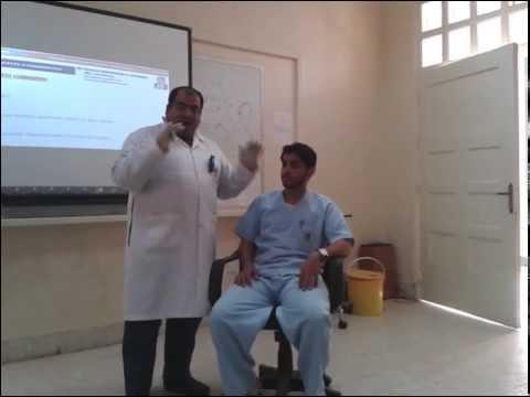 Olfactory nerve (I) examination (1-2014) by Dr Khaled A Abulfadle