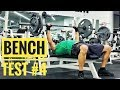 (BENCH Test #4) Max Reps with 185lbs (15 reps) 185 for reps - Sep 2016