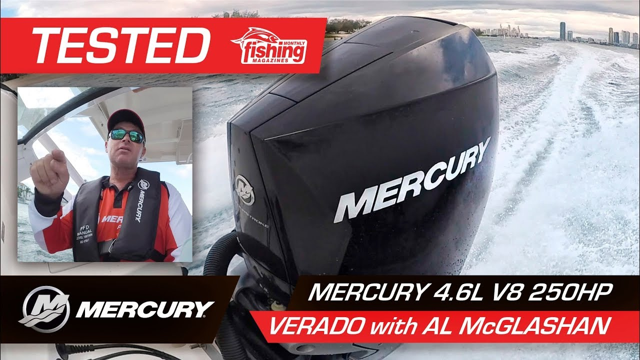 BREAKING NEWS: Mercury launches V-8 4 6 litre 4-strokes from