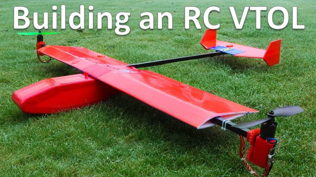 Glider Plane Building An Rc Vtol - Youtube