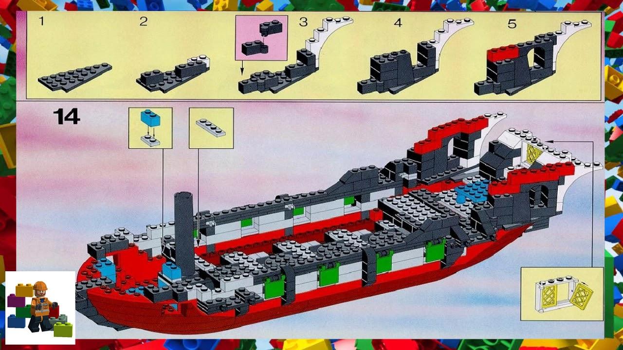 Lego Instructions Pirates 6286 Skulls Eye Schooner Youtube