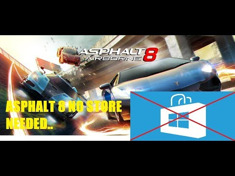 How To Download Asphalt 8 Airbrone On Windows 8,8 1,10 Without Store