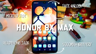 "Honor 8X Max - 7"" SCREEN with 5000MAH BATTERY?"