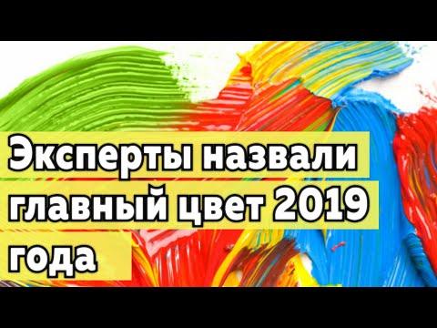 Главный цвет 2019-ого года
