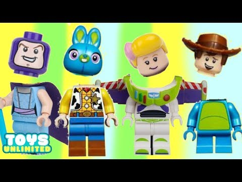 Wrong Heads Learning Game with Mix n Match Toy Story 4 LEGO |