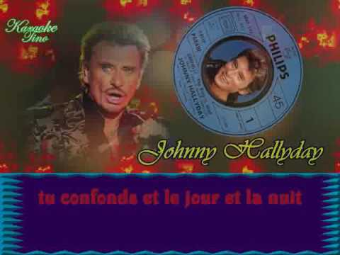 karaoke tino johnny hallyday gabrielle youtube. Black Bedroom Furniture Sets. Home Design Ideas