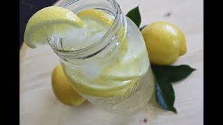 📌💗КАК ПРИГОТОВИТЬ ЛИМОННУЮ ВОДУ.  ГРОМАДНАЯ ПОЛЬЗА лимона и воды с лимоном