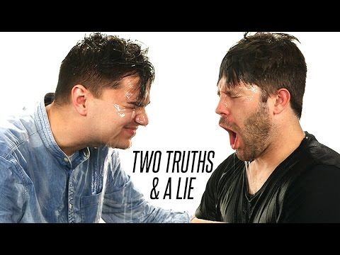 Ex Co-Workers Play Two Truths and a Lie (WATER EDITION)