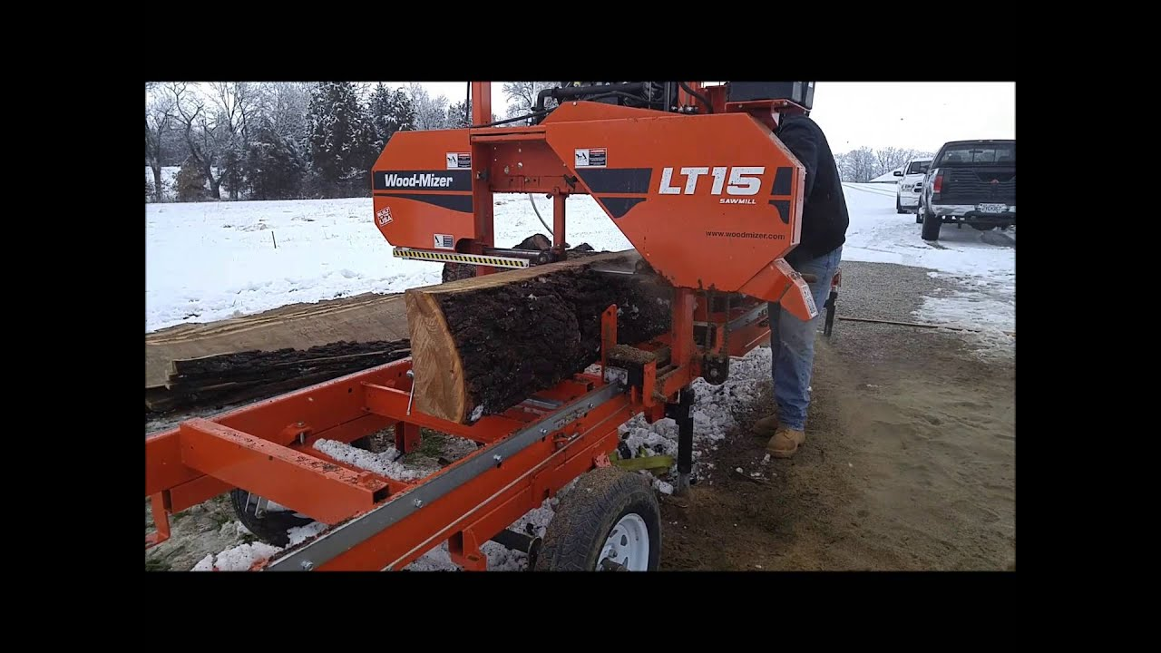 Wood Mizer Lt15 Sawmill Youtube