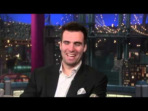 David Letterman - Super Bowl MVP Joe Flacco