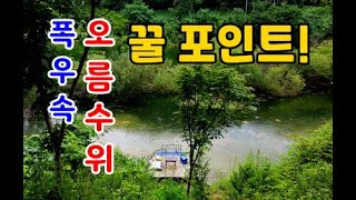 연이은 폭우  최강포인트를 만나다