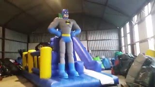 Video Airmax Inflatables - Batman Obstacle Course download MP3, 3GP, MP4, WEBM, AVI, FLV Oktober 2018