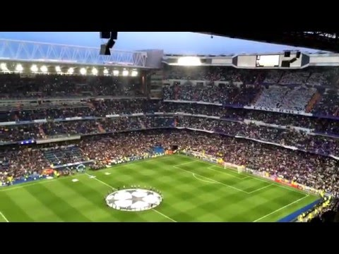 HD | Real Madrid vs. VFL Wolfsburg | 12.04.2016 | HALA MADRID Y NADA MAS + CHAMPIONS LEAGUE ANTHEM