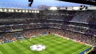 Hd  Real Madrid Vs. Vfl Wolfsburg  12.04.2016  Hala Madrid Y Nada Mas + Champions League Anthem