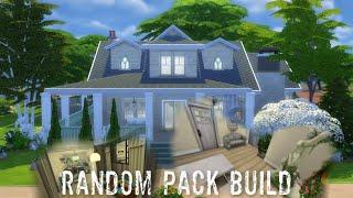 Random Pack Build Challenge - Sims 4 Speedbuild