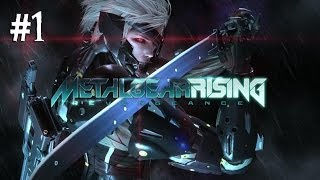 Metal Gear Rising: Revengeance Gameplay Walkthrought Part 1 - Mission 1