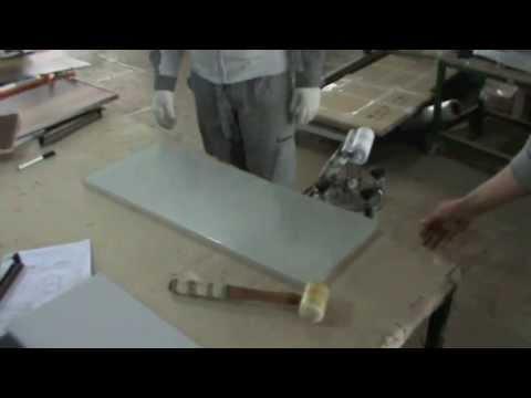 технология производства стеклянного фасада для мебели