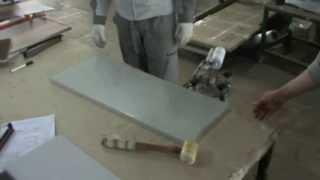 технология производства стеклянного фасада для мебели(стеклянный фасад с использованием сотового наполнителя Мебельная фабрика Династия г.Хабаровск., 2013-06-16T09:09:57.000Z)