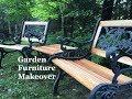 DIY Garden Furniture Makeover