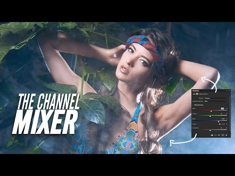 The Channel Mixer - How it works and creative coloring