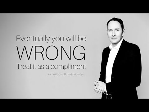 Eventually you will be wrong. Treat it as a compliment.