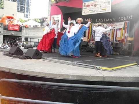 Cumbia veraguense y cumbia chorrerana baile tipico de panama youtube
