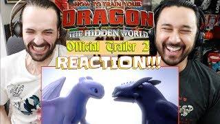 HOW TO TRAIN YOUR DRAGON: THE HIDDEN WORLD | Official TRAILER 2 - REACTION!!!