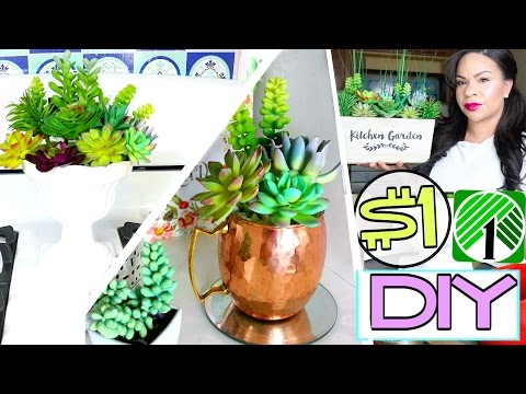 DOLLAR TREE DIY: 3 SUCCULENT DECOR IDEAS YOU MUST TRY! | Sensational Finds