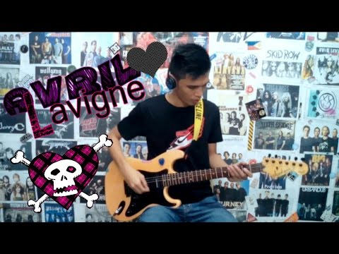 My Happy Ending - Avril Lavigne(Guitar Cover)with Chords and Tab ...
