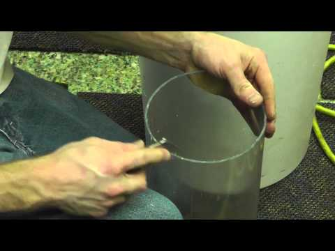 How To Cut Pipe Straight / Square With A Hand Saw. large Or Small! PVC, Polycarbonate, Acrylic, ECT