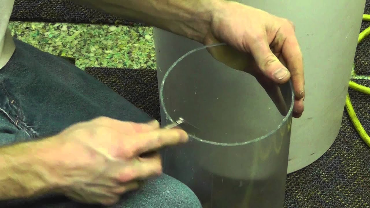 How to cut square metal tube straight