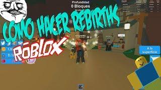 THE BEST WAY TO MAKE REBIRTH!!! Mining Simulator ROBLOX ENGLISH LATINO