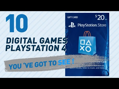 Top 10 Digital Games Playstation 4 Collection // Video Games 2017