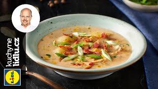 Kuřecí polévka s kukuřicí - Roman Paulus - RECEPTY KUCHYNĚ LIDLU