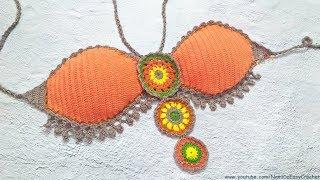 Easy Crochet for Summer: Crochet Bikini Top #06