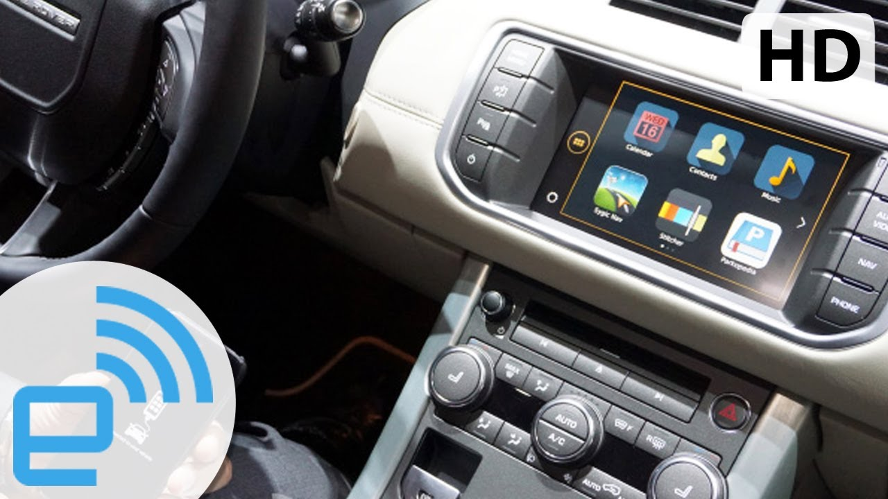 Land Rover Incontrol Apps >> 2015 Range Rover Evoque InControl Apps Demo | Engadget - YouTube