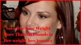 Sara Rue Lose Weight More Than 50 Pounds in Her Weight Loss Journey