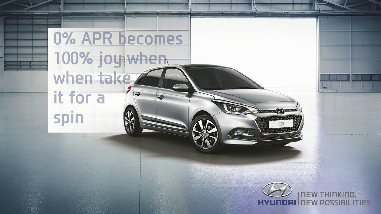 Hyundai i20 Premium with 0% APR* | Platinum Hyundai - YouTube